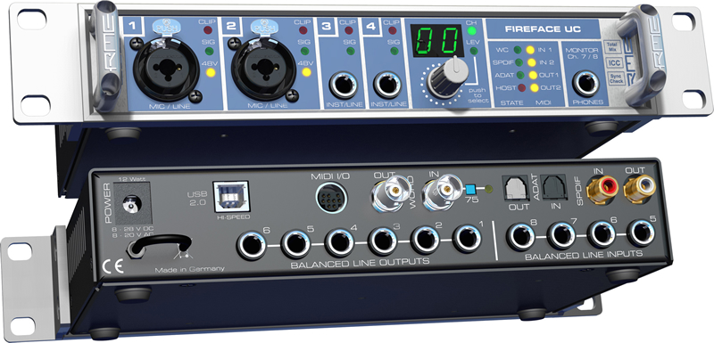 RME Fireface UC Audio Interface