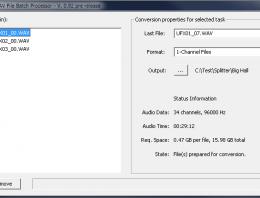 RME - Wav batch processor - Win