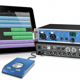 iPad RME Fireface UCX at NAMM 2012