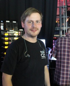 John Gale, Monitoring Engineer for The Voice