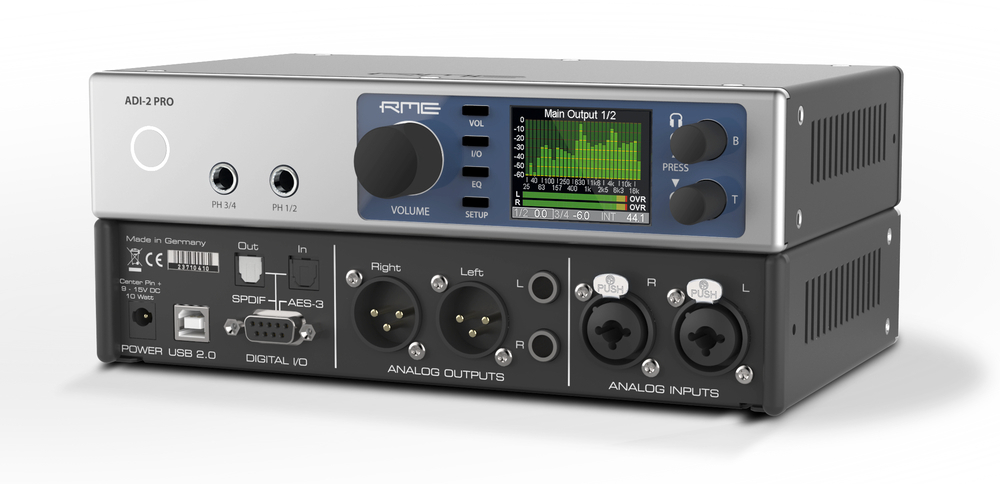 RME ADI-2-Pro - Perspective - Synthax Audio UK