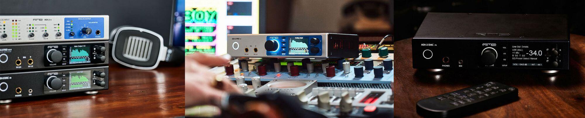 RME ADI-2 Series - Strip - Synthax Audio UK