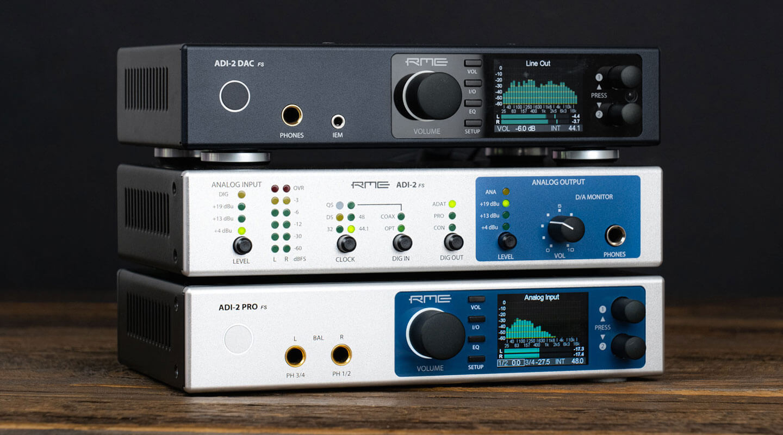 RME ADI-2-Series - Synthax Audio UK