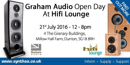 Graham Audio - Hifi Lounge - Open Day