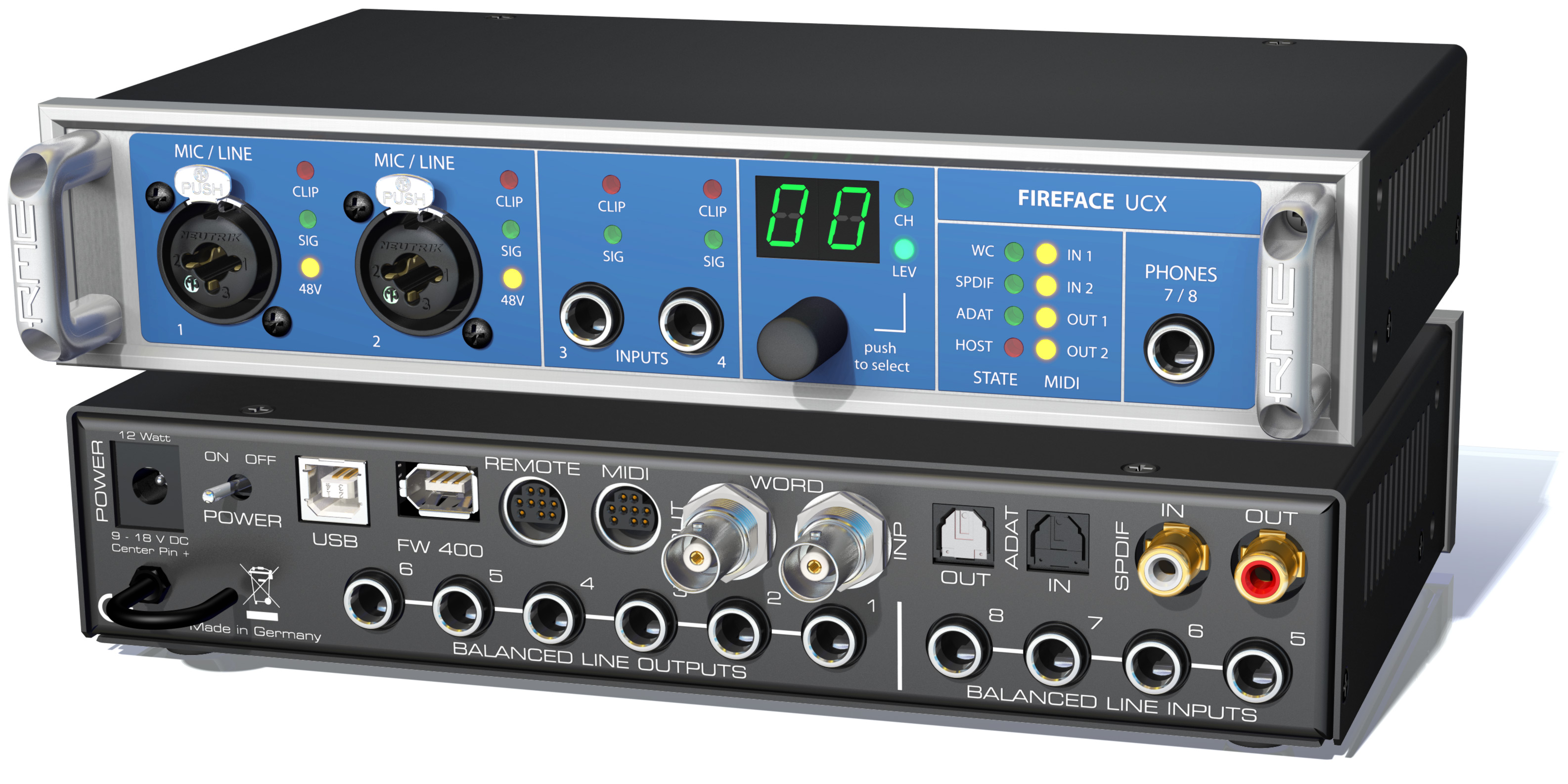 RME Fireface UCX - Synthax Audio UK