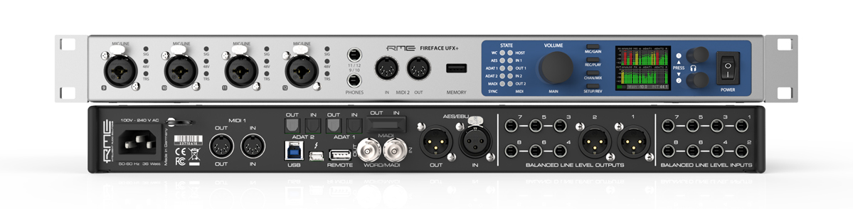 RME Fireface UFX+ with Clean Bandit
