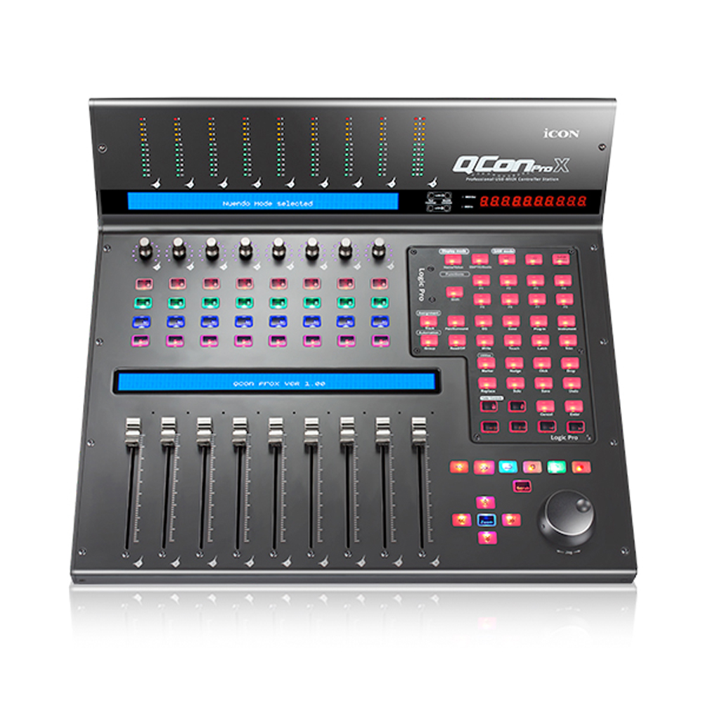 Icon Qcon Pro X - Top-down - Synthax Audio UK