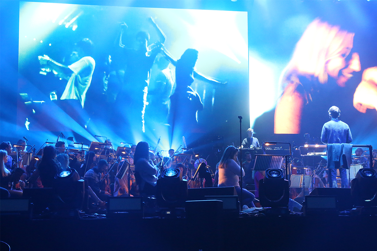 Massive mymix system chosen for pete tong and the heritage for Heritage orchestra