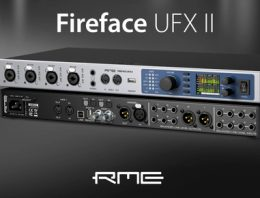 NAMM 2017 - RME Fireface UFX II Overview - Synthax Audio UK