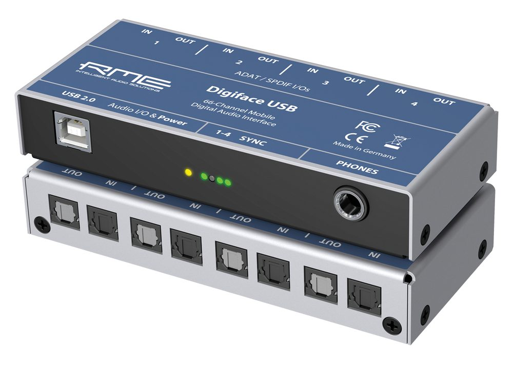 RME Digiface USB - 01 - Synthax Audio UK