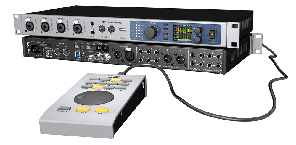 RME Fireface UFX+ & ARC USB - Synthax Audio UK