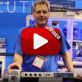RME Fireface UFX II - ARC USB - Digiface USB - NAMM 2017 Video Image