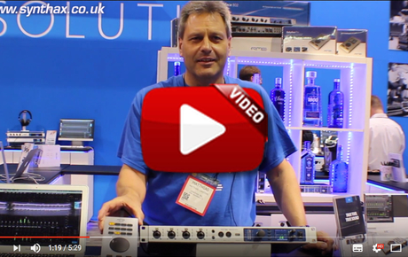 RME Fireface UFX II - ARC USB - Digiface USB - NAMM 2017 Video Image