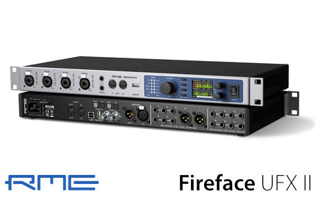RME RME Fireface UFX II audio interface - Synthax Audio UK