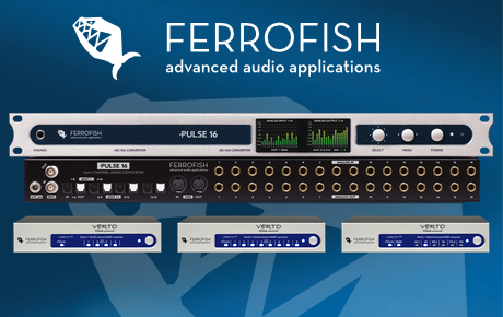 Ferrofish Pulse16 - Verto - News Image - Synthax Audio UK