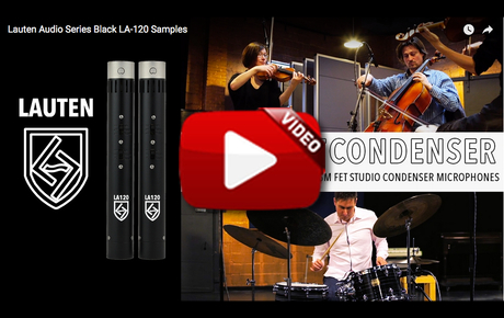 Lauten Audio - LA-120 - Samples Video