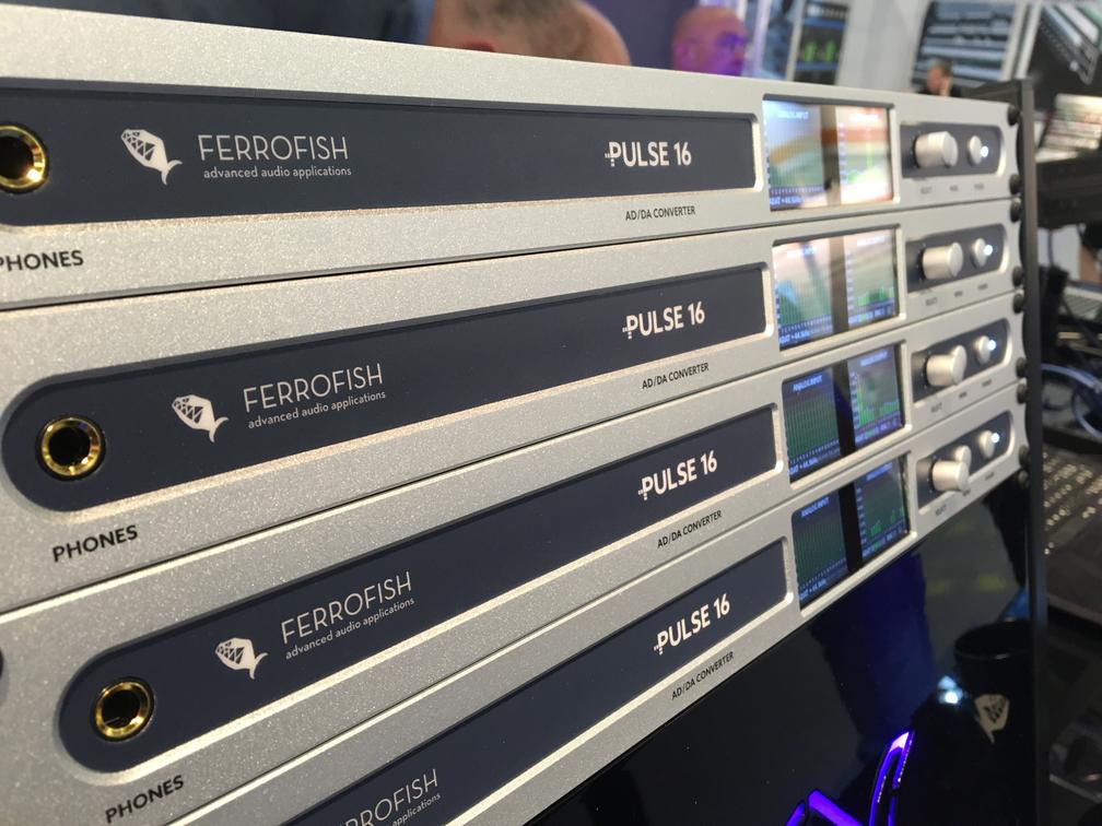 Ferrofish Pulse 16 - 02 - Musikmesse 2017 - Synthax Audio UK