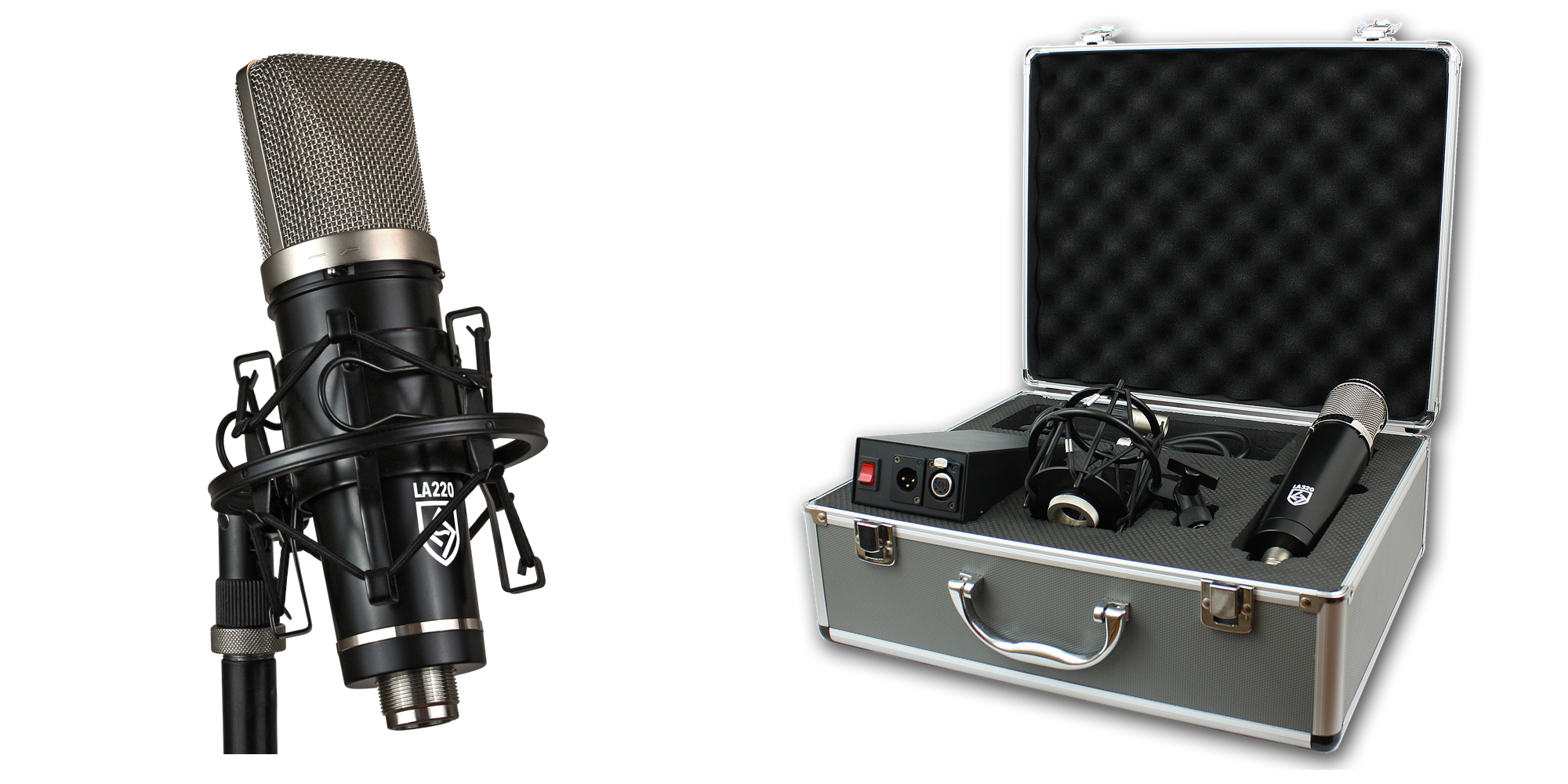 Lauten Audio LA-220 & LA-320 Microphones - Synthax Audio UK