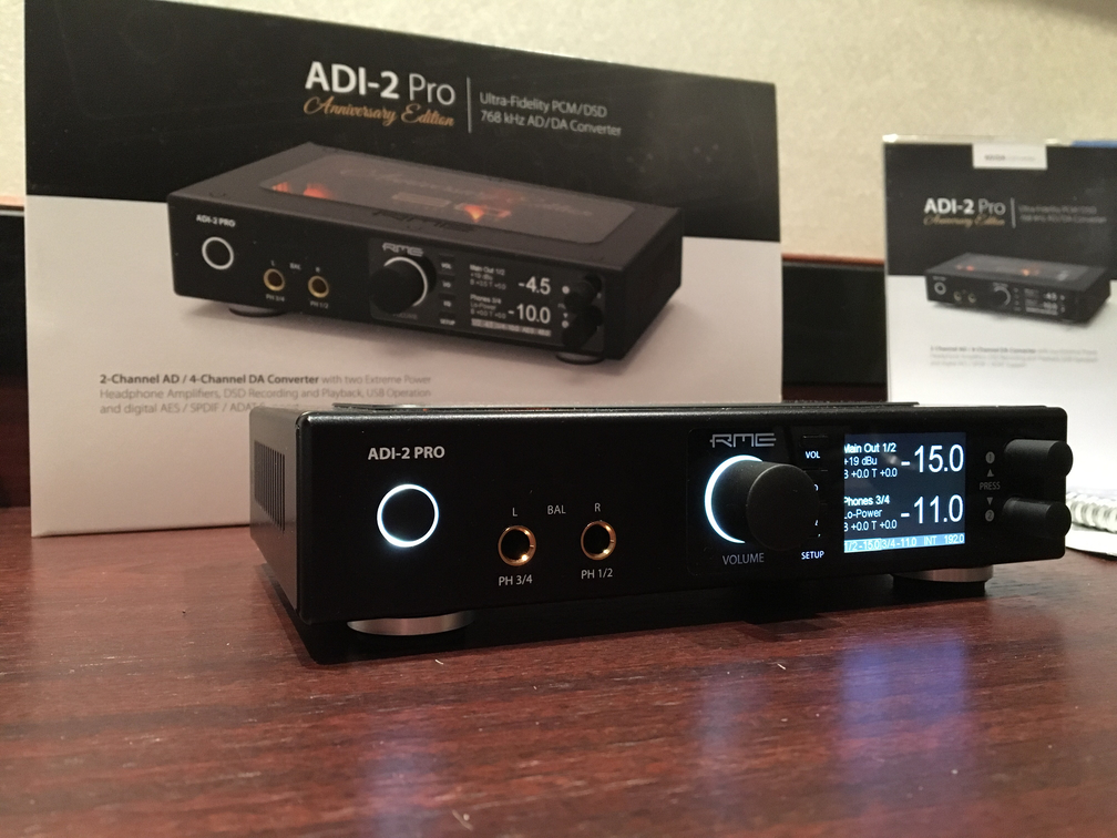 RME ADI-2 Pro Anniversary Edition - 01 - Musikmesse 2017 - Synthax Audio UK