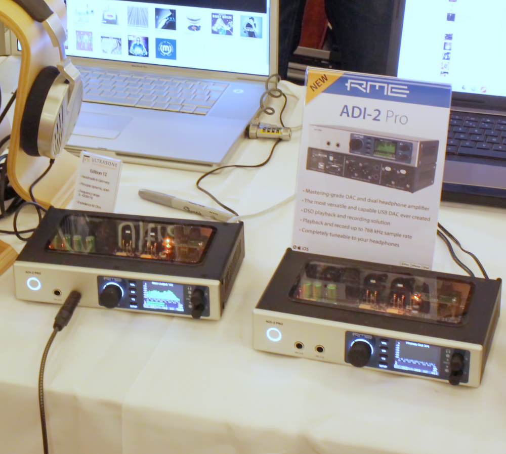 RME ADI-2 Pro Prototypes at CanJam London 2016 - Synthax Audio UK
