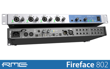Audio/midi Interfaces Rme Fireface 802 Sturdy Construction