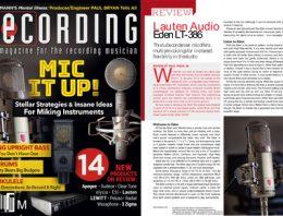 Lauten Audio Eden LT-386 - Revew By Recording Mag - feature image