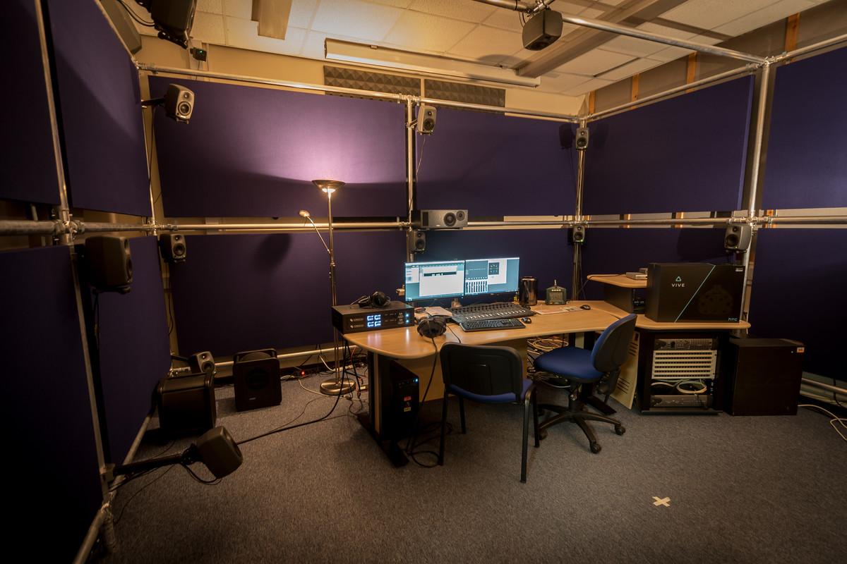 Southampton Solent University - VR Space - Ferrofish A16 MK-II