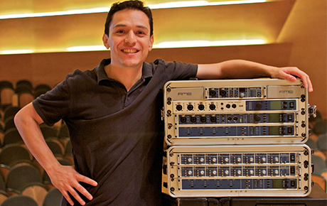 Feature Image - Oscar Torres - RME Audio - Synthax Audio UK