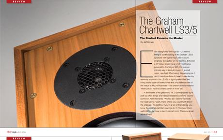 Graham Audio LS35 Review - Tone Audio - Feature Image