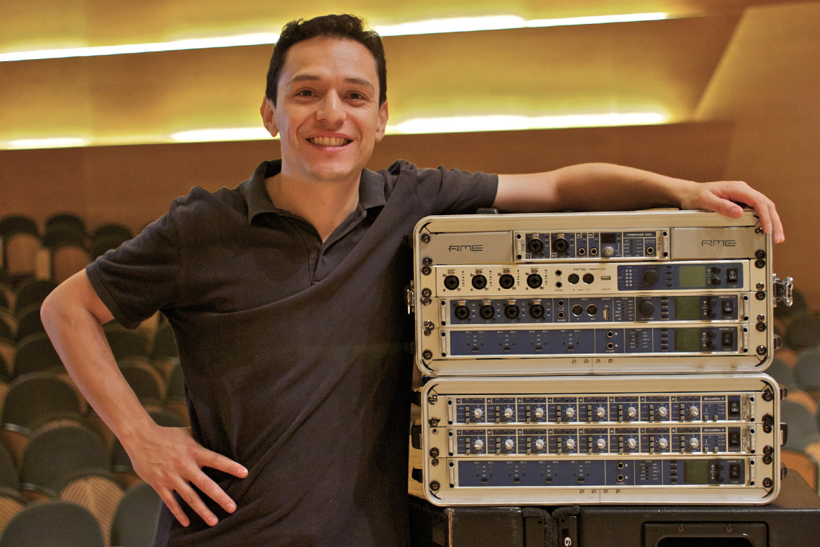 Oscar Torres - RME Audio Rig - Synthax Audio UK