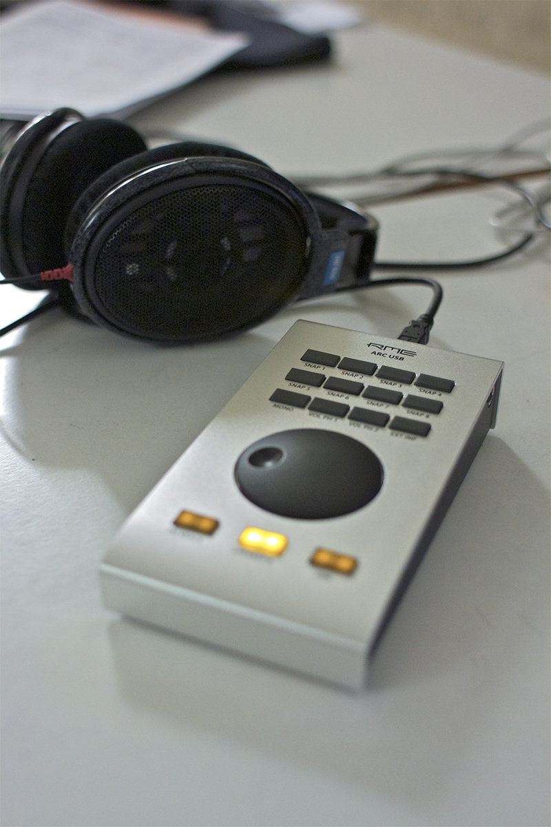 RME ARC USB - Oscar Torres - Synthax Audio UK
