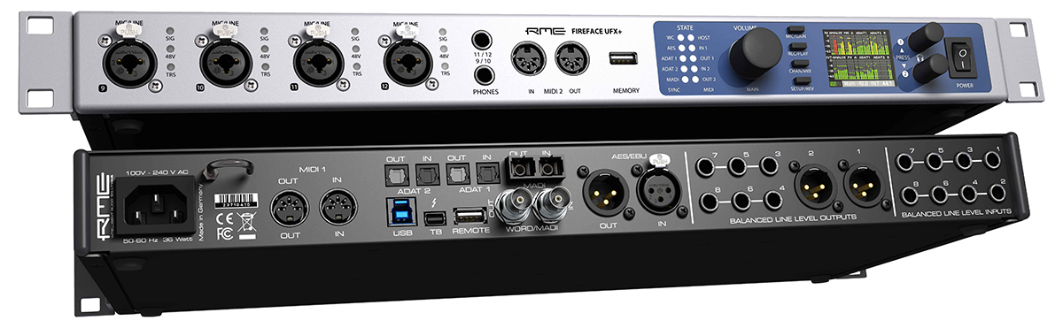 RME Fireface UFX+ - Synthax Audio UK