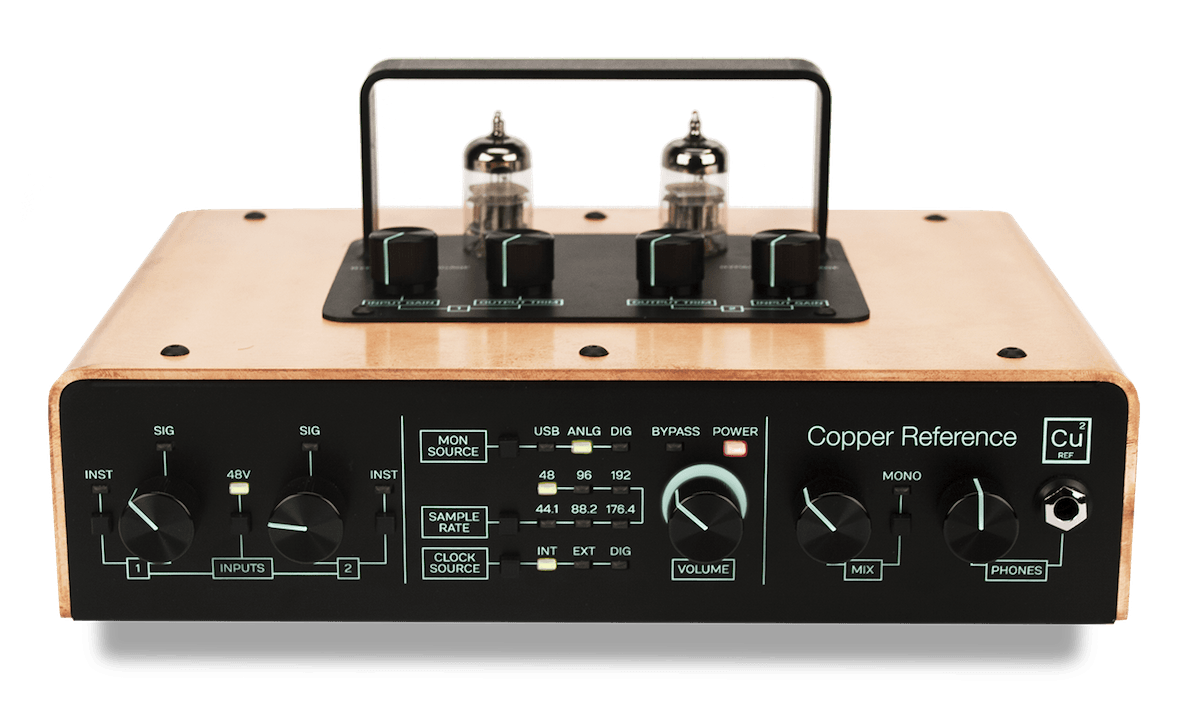 Tracktion Copper Reference audio interface - Synthax Audio UK