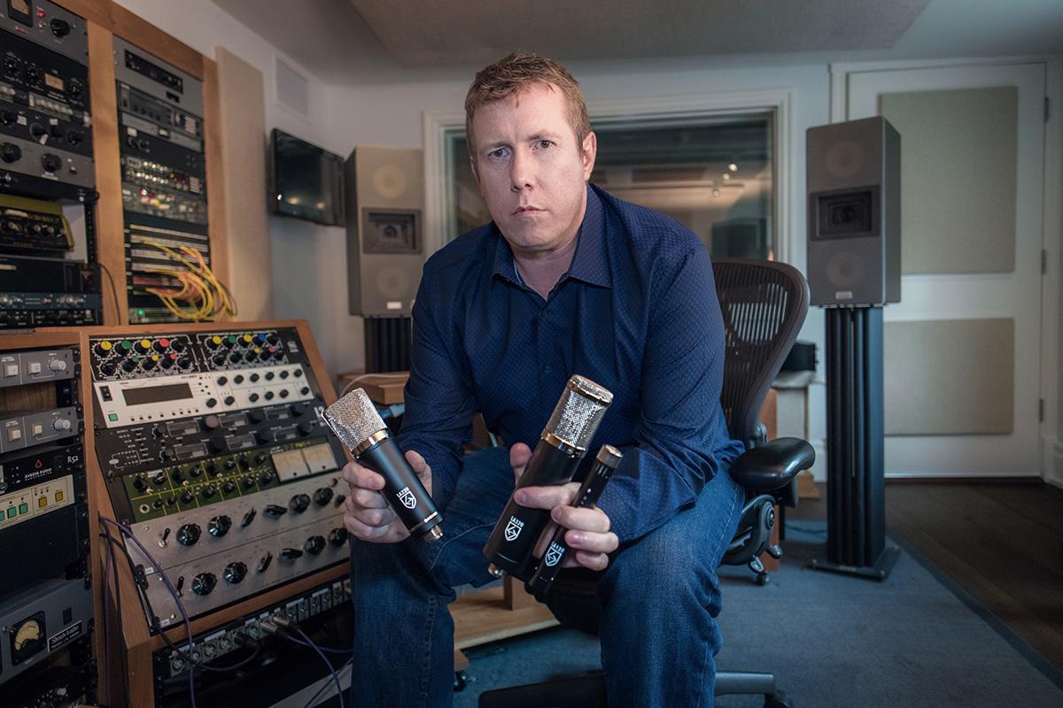 Darrell Thorp - 01 - Lauten Audio Series Black - Foo Fighters - Synthax Audio UK