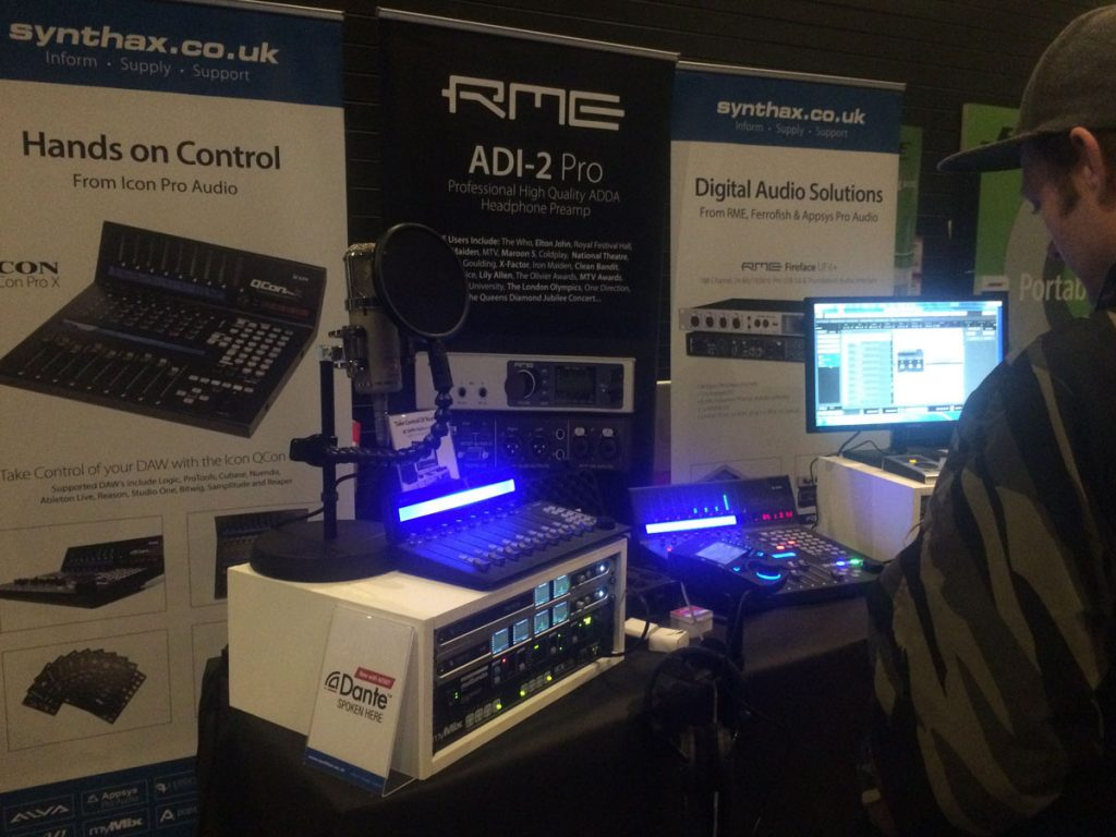 Absolute Music Open Day - 01 - Synthax Audio UK