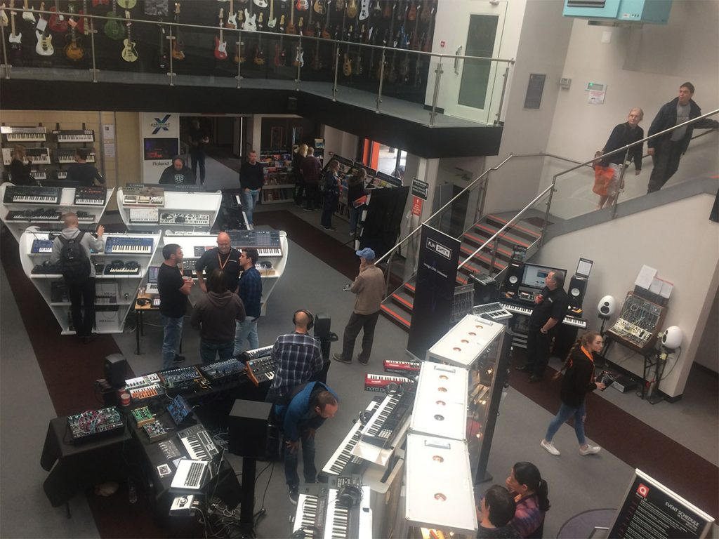 Absolute Music Open Day - Main Room - Synthax Audio UK