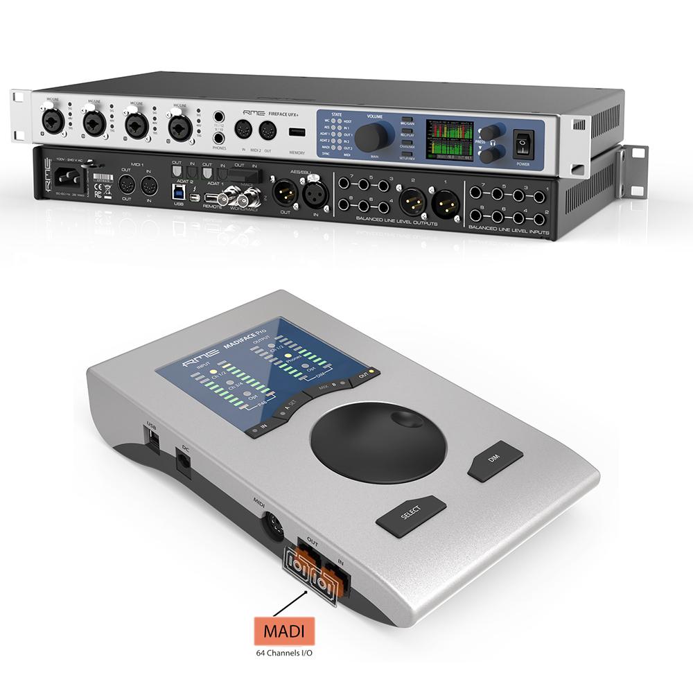 SoundPro 2017 - RME Fireface UFX+ & MADIface Pro - Synthax Audio UK.jpg
