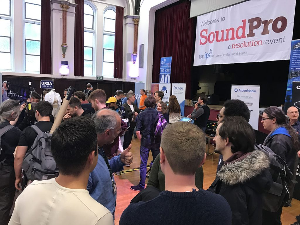 SoundPro2017 - Showroom - 02 - Synthax Audio UK