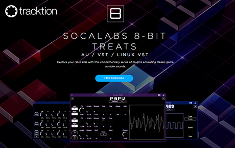 Tracktion-Socalabs - 8-Bit Treats Free Splugins - Feature Image