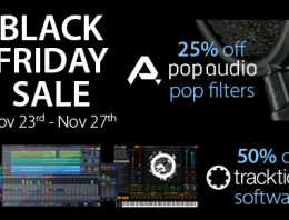 Black Friday - Pop Audio - Tracktion - Synthax Audio UK
