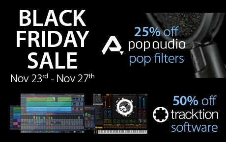 Black Friday Deals: Massive Savings On Tracktion Software & Pop Audio