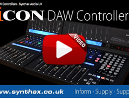 Icon Controllers Video Image - Synthax Audio UK