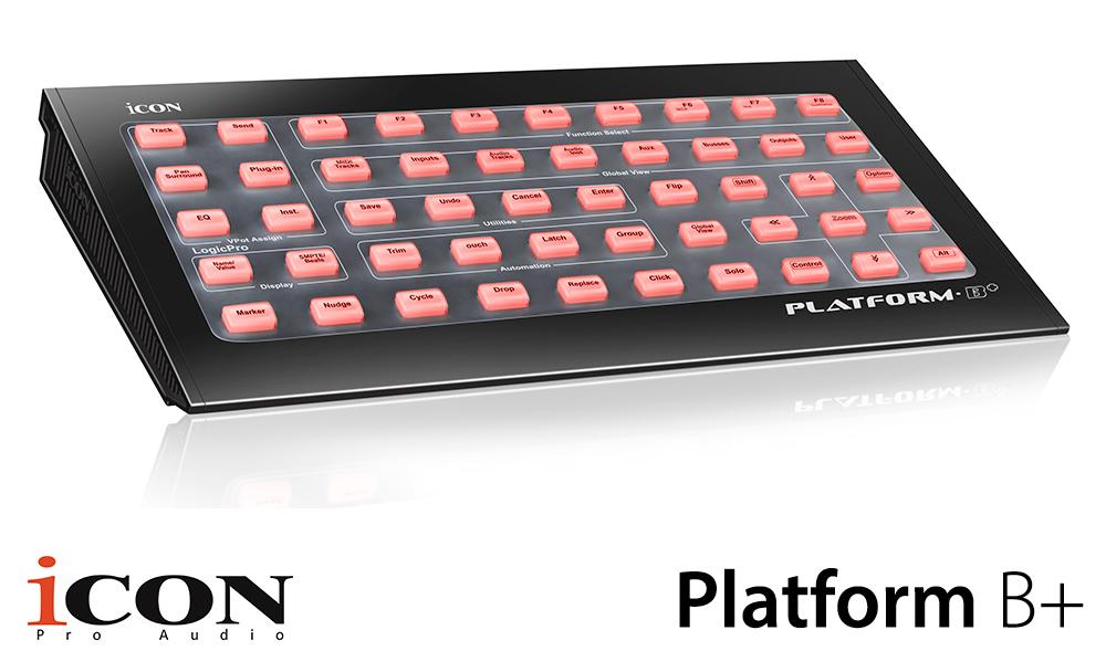 2018 - 1 - NAMM 2018 - Icon Platform B+