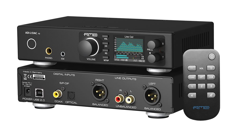 RME ADI-2 DAC - Front-Back-Angle - Synthax Audio UK