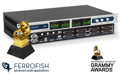 Ferrofish A32 Converter - Grammy Awards 2018 - Synthax Audio UK