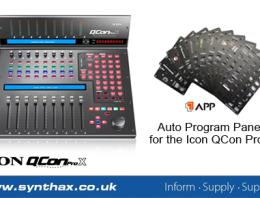 Icon APP - Auto Program Panel - News Image - Synthax Audio UK