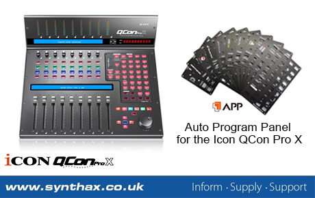 Icon APP - Auto Program Panel - News Image - Synthax Audio UK