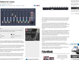 Icon Platform M+ - Future Music Review News Image - Synthax Audio UK