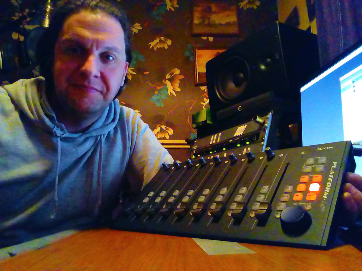 Icon Platform M+ - Pro Tools Expert Winner - Ian Heginbotham - Synthax Audio UK