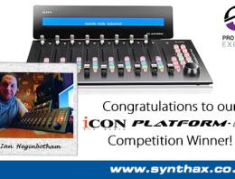 Icon Platform M+ - Pro Tools Expert Winner - News Image - Synthax Audio UK